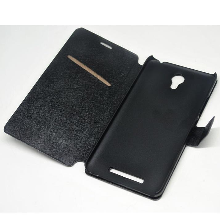 promo code d0045 8a47b Taff Leather Flip Case for Redmi Note 2 - Black