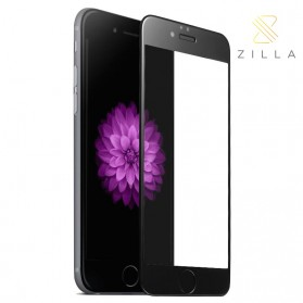 Zilla 3D Full Protect Tempered Glass Curved Edge 9H for iPhone 6/6s - Black