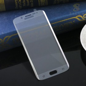 Zilla 3D Full Protect Tempered Glass Curved Edge 9H for Samsung Galaxy S6 Edge - Transparent