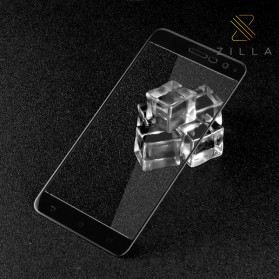 Zilla 3D Full Protect Tempered Glass Curved Edge 9H for Asus Zenfone 3 ZE520KL - Black