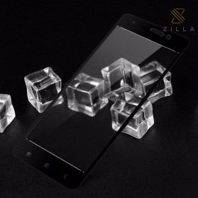 Zilla 3D Carbon Fiber Tempered Glass Curved Edge 9H for Xiaomi Mi5s - Black