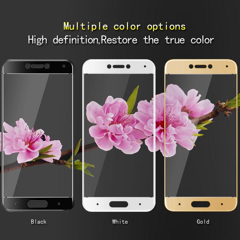 ... Premium Source Zilla 3D Carbon Fiber Tempered Glass Curved Edge 9H for Xiaomi Mi5c Black 4