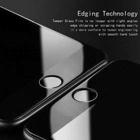 Zilla 3D Carbon Fiber Tempered Glass Curved Edge 9H for Xiaomi Mi5c - White - 2