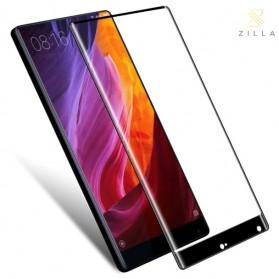 Zilla 3D Carbon Fiber Tempered Glass Curved Edge 9H for Xiaomi Mi Mix - Black