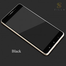 Zilla 3D Carbon Fiber Tempered Glass Curved Edge 9H for Xiaomi Mi Max - Black