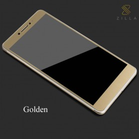 Zilla 3D Carbon Fiber Tempered Glass Curved Edge 9H for Xiaomi Mi Max - Golden