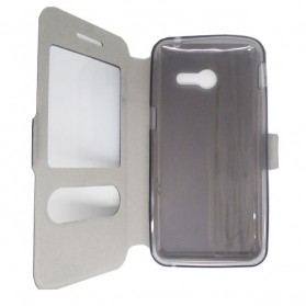 Taff Leather Flip Case Asus Zenfone 4 - Golden - 5