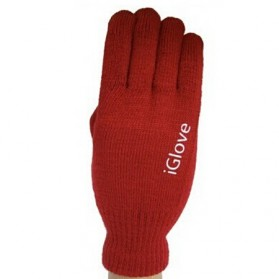 iGlove Sarung Tangan Touch Screen Untuk Smartphones & Tablet - Red