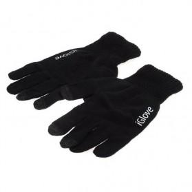 iGlove Sarung Tangan Touch Screen Untuk Smartphones & Tablet - Dark Gray - 5