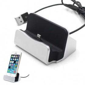 Lightning Dock Charging iPhone 5/6 - Silver