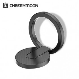CHERRYMOON Metal iRing Smartphone Holder - Black