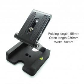WINOTAR Tripod Z Flex Pan Tilt Head Flexible Plastic for DSLR Camera - 77012 - Black - 7