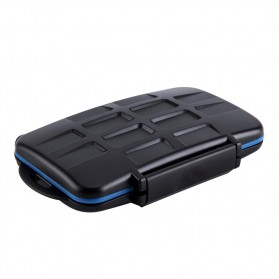 JJC Case Holder Storage Box SD/Micro/SIM CARD - MC-STM18 - Black - 2