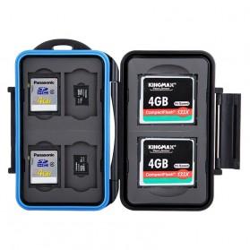 Memory Card Case Holder Storage Box 2 CF + 4 SD + 4 Micro SD - MC-STC10 - Black - 2