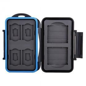 Memory Card Case Holder Storage Box 2 CF + 4 SD + 4 Micro SD - MC-STC10 - Black - 3