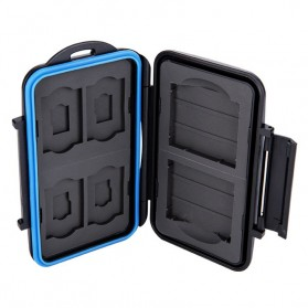 Memory Card Case Holder Storage Box 2 CF + 4 SD + 4 Micro SD - MC-STC10 - Black - 4