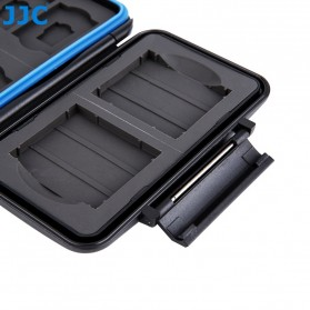 Memory Card Case Holder Storage Box 2 CF + 4 SD + 4 Micro SD - MC-STC10 - Black - 5