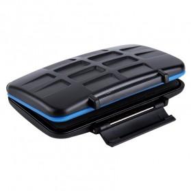 Memory Card Case Holder Storage Box 2 CF + 4 SD + 4 Micro SD - MC-STC10 - Black - 6