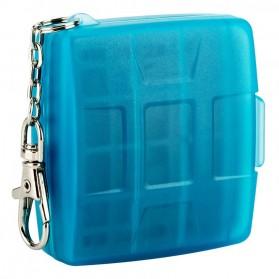 JJC Memory Card Storage Box 8 Nintendo Switch Card + 8 Micro SD - MC-10B - Blue - 2