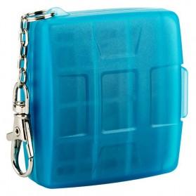 JJC Memory Card Case Holder Storage Box 1 CF + 2 SD + 2 Micro SD Card - MC-8B - Blue - 2