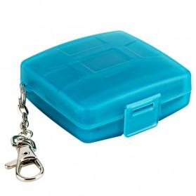 JJC SIM Card Case Holder Storage Box - MC-9B - Blue - 2