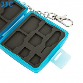 JJC SIM Card Case Holder Storage Box - MC-9B - Blue - 4