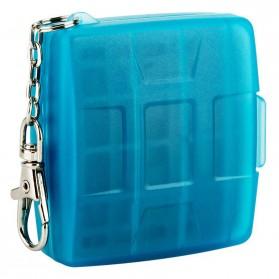 JJC SIM Card Case Holder Storage Box - MC-9B - Blue - 7