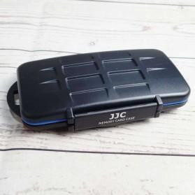 JJC Memory Card Case Holder Storage Box 8 SD + 8 Micro SD - MC-STM23 - Black