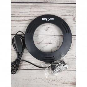 TaffSTUDIO Lampu Halo Ring Light LED Kamera 8W 6 Inch - RL-19 - White - 2