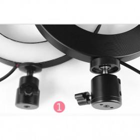 TaffSTUDIO Lampu Halo Ring Light LED Kamera 8W 6 Inch - RL-19 - White - 9