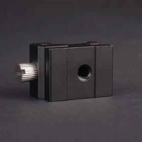 CAMVATE Hot Shoe Kamera DSLR Flash Bracket Tripod Screw 1/4 Thread - SC-6 - Black - 3