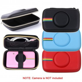 Tas Kamera EVA Case PU Leather Bag for Polaroid Snap Touch - CS089 - Black