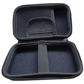 Tas Kamera EVA Case PU Leather Bag for Polaroid Snap Touch - CS089 - Black - 2