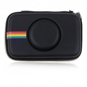 Tas Kamera EVA Case PU Leather Bag for Polaroid Snap Touch - CS089 - Black - 5