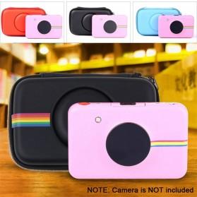 Tas Kamera EVA Case PU Leather Bag for Polaroid Snap Touch - CS089 - Black - 7