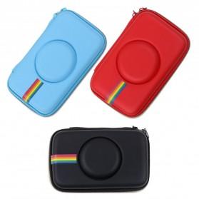 Tas Kamera EVA Case PU Leather Bag for Polaroid Snap Touch - CS089 - Black - 8