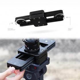 ASHANKS Carbon Fiber Slider Focus Track for DSLR & Smartphone - YF-6 - Black - 4