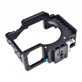 YELANGU Camera Cage Rig Kit without Clip for Sony A7 A7K A72 A73 A7S2 A7R2 A7R3 A7X - CA7 - Black - 3