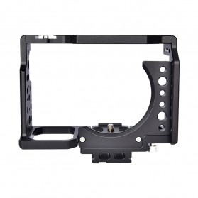 YELANGU Camera Cage Rig Kit without Clip for Sony A7 A7K A72 A73 A7S2 A7R2 A7R3 A7X - CA7 - Black - 6
