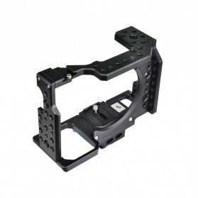 YELANGU Camera Cage Rig Kit without Clip for Sony A7 A7K A72 A73 A7S2 A7R2 A7R3 A7X - CA7 - Black - 9