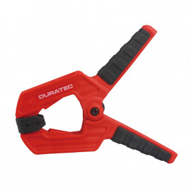 DURATEC Klip Jepit Papan Kayu Spring Clamp Strong Wood Carpenter 9 Inch - S825 - Black/Red