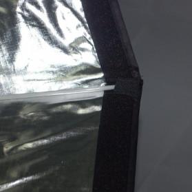 CY Payung Octagonal Softbox Reflektor Flash 95 CM - CY95 - Black - 7