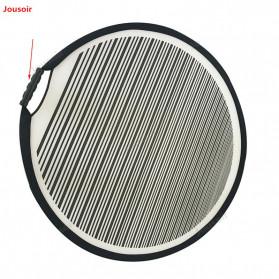 Jousoir Striped Reflektor Cahaya Studio Foto 80CM - CD50-T03 - Black - 2