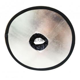 Jousoir Hollow Reflektor Cahaya 2 in 1 Studio Foto 45CM - CD50-T05 - Black - 2