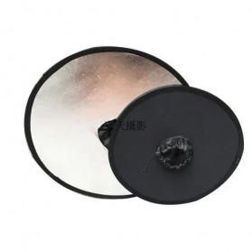 Jousoir Hollow Reflektor Cahaya 2 in 1 Studio Foto 45CM - CD50-T05 - Black - 4