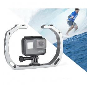 KEELEAD Handheld U-Rig Stabilizer Grip for GoPro - A63 - Silver