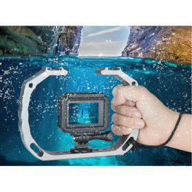 KEELEAD Handheld U-Rig Stabilizer Grip for GoPro - A63 - Silver - 3