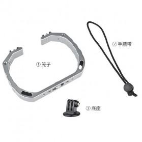 KEELEAD Handheld U-Rig Stabilizer Grip for GoPro - A63 - Silver - 4