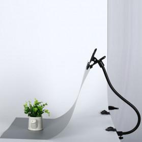 CY Clip Clamp Background Holder Flexible Arm Photo Studio - C5016 - Black