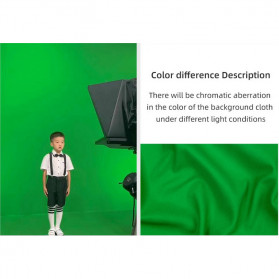 Ambitful Kain Backdrop Studio Fotografi Cotton Textile Muslin Cloth 300 x 300 cm - B29 - Green - 8